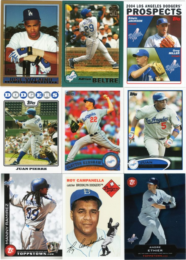Assorted 1998-2011 Topps cards