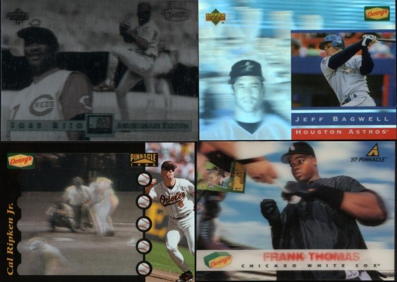 Assorted oddball baseball cards