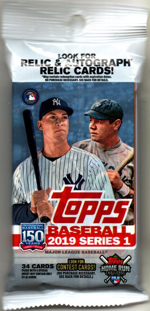 2019 Topps Baseball value pack - Target